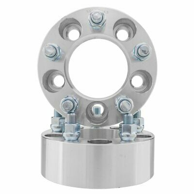 $40.73 • Buy 2 Pcs | 2  | 5 X 4.5 To 5x4.5 |  Wheel Spacers | Adapters | Bolt On | 1/2  X 20