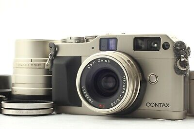 $ CDN993.58 • Buy [ MINT ] Contax G1 Film Camera Body 28mm 90mm Lens Filter Hood Cable From JAPAN