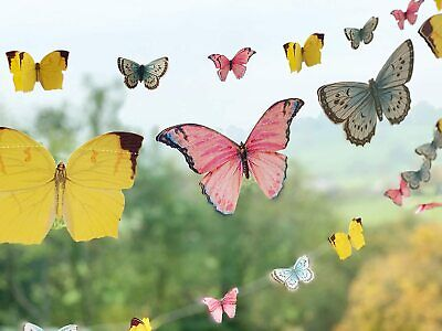£8.99 • Buy Vintage Style Pretty Butterfly Bunting Garland 5m Butterfly Banner Decoration
