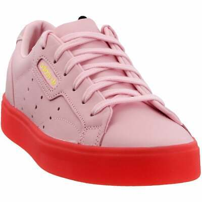 AU103.02 • Buy Adidas Sleek Lace Up  Womens  Sneakers Shoes Casual   - Pink