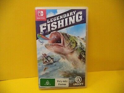 AU19.95 • Buy Nintendo Switch Legendary Fishing Game
