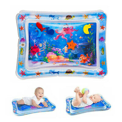 £6.59 • Buy Inflatable Water Playmat  Infants Fun Tummy Time Baby Toddlers Activity Pad