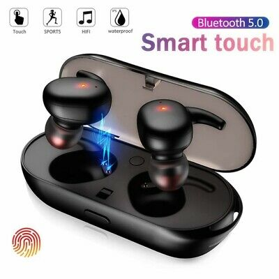 $ CDN10.01 • Buy True Wireless Earbuds Bluetooth 5.0 Waterproof Headset Headphones With Mic Case