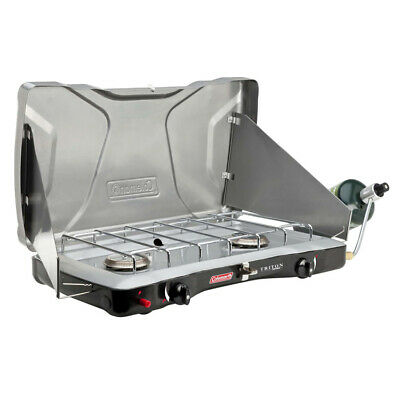 AU70 • Buy Coleman 2 Burner Triton Instastart Gas Portable Stove Camping Cooking Stove