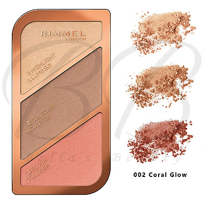 £5.45 • Buy RIMMEL Kate Sculpting Contouring Highlighter Palette Kit - 002 Coral Glow *NEW*