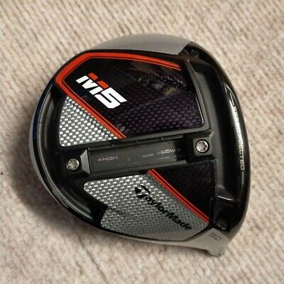 AU366.07 • Buy Used Golf Club Popular M5 Driver Head Only Loft 9 Degrees Taylormade From Japan