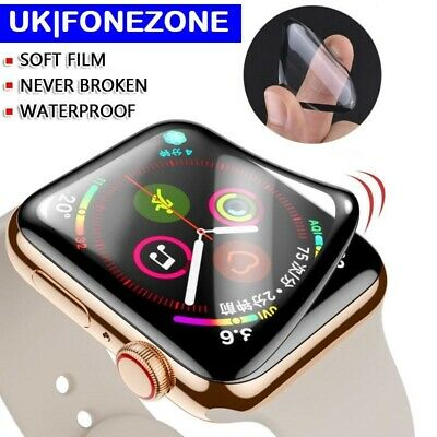 $ CDN3.39 • Buy Apple Watch Full Cover Screen Protector  Iwatch Series  5 4 3 2 1 Clear Film