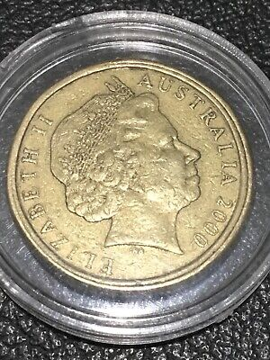 AU495 • Buy 2000 Australian One Dollar Coin  $1/10c MULE Very Collectible