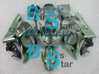 $316.45 • Buy Pattern Green INJECTION Fairing For Yamaha YZFR6 YZF-R6 1998-2002 51 B3