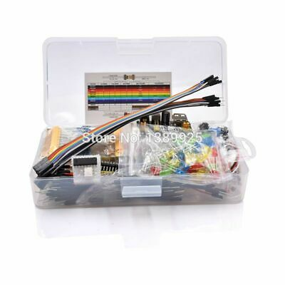 Basic Starter Kit Electronics Component Tie-Points Capacitor LED Potentiometer • 16.96£