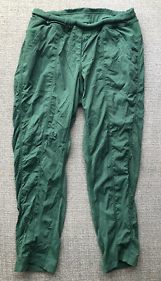 $ CDN1.56 • Buy Lululemon Street To Studio Crop 7/8 Pant Forest Green 8 Free Ship