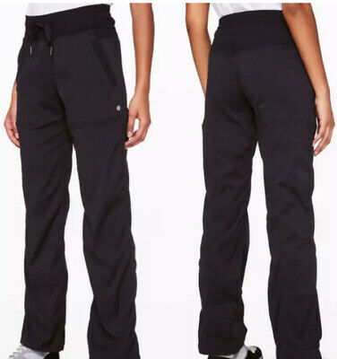 "$ CDN20.31 • Buy Lululemon Sz 8 Studio Pant Black 34"" Inseam Free Ship"