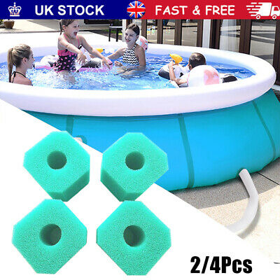 £8.29 • Buy 4/6 Pack Lay In Clean Spa Hot Tub S1 Washable Bio Filter For LAZY Foam VI U4Z1.