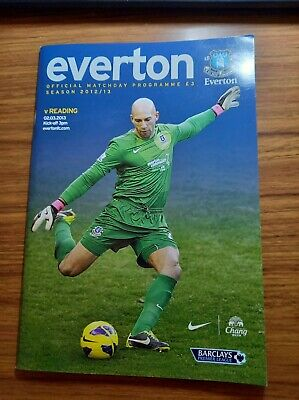 £1.25 • Buy Everton Home Programmes 2012-13 *choose From List*