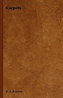 £20.31 • Buy Carpets, Hardcover By Brinton, R. S., Like New Used, Free Shipping In The US
