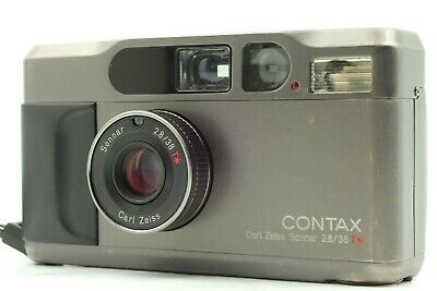 $ CDN1197.84 • Buy 【 Excellent+5 】Contax T2 Titan Black Point & Shoot Film Camera From JAPAN 600