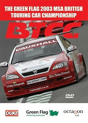 £13.79 • Buy BTCC British Touring Car Championship - Official Review 2003 (New DVD)