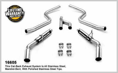 $794 • Buy MAGNAFLOW PERF EXHAUST 05-09 Mustang 4.0L V6 Cat Back Kit 16605