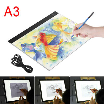 £18.99 • Buy A3 LED Drawing Copy Board Tracing Light Box Diamond Painting Tablet Pad Artist