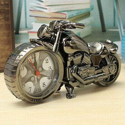 Uk Motorcycle Alarm Clock New Original Mini Desk Collectible Time Piece Cool • 9.03£