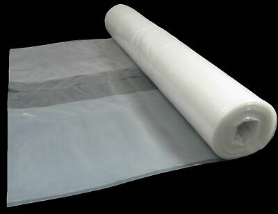£18.99 • Buy 4x10M Greenhouse Film Replacement Clear Plastic Sheeting Roll-Polythene Cover