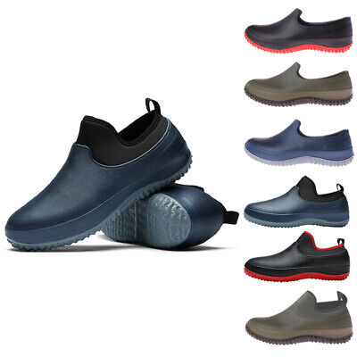£19.59 • Buy Unisex Chef Shoes Kitchen Safety Shoes Slip On Work Mens Boots-Non-slip Oilproof