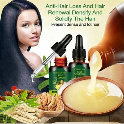 AU16.20 • Buy Regrow 7 Day Ginger Germinal Hair Growth Serum Hairdressing Oil Loss Treatement
