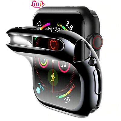 $ CDN5.07 • Buy IWatch Screen Protector Accessories Silicone Bumper For Apple Watch 6 5 4 3 2 1