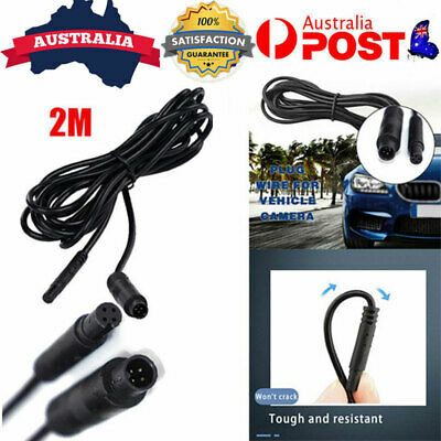AU10.99 • Buy 2M Dash Cam Rear View Backup Reverse Cameras 4 Pin Extension Cable Wire Cord AU