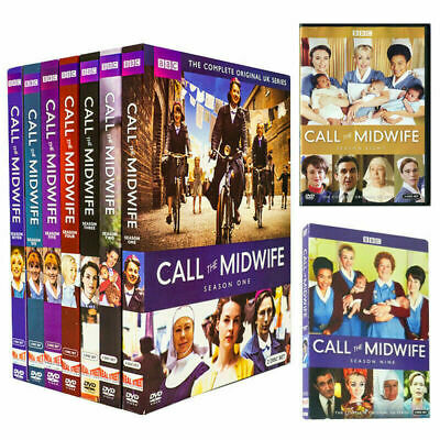 Call The Midwife: Complete Series Seasons 1-9 (26-Disc DVD Set) New. Free Shippi • 56.51£