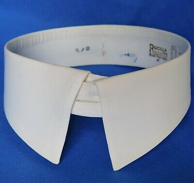 $20.15 • Buy Detachable Starched Shirt Collar Size 15.5 Vintage Rocola Lincoln Separate Stiff
