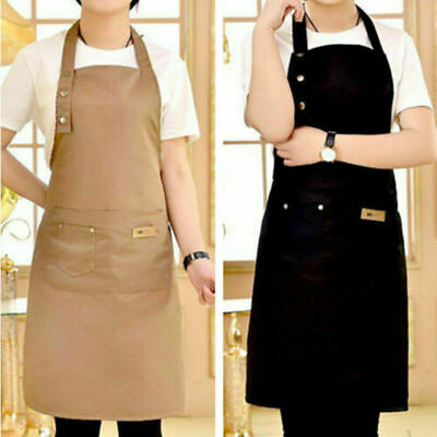 £6.69 • Buy Chef Apron Kitchen Waterproof Pocket Catering Cooking Butcher Baking Craft