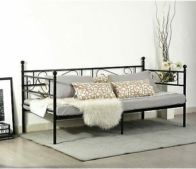 £55.99 • Buy BUYBYROOM 3ft Single Day Bed Scrub Guest Bed Frame Stable Metal Frame Structure