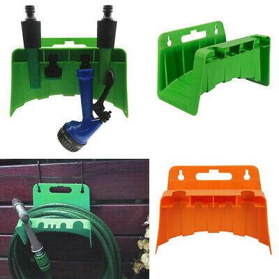 Garden Hose Pipe Hanger Wall Mounted Cable Tidy Storage Shed Hose Reel Holder • 4.59£