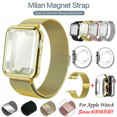 AU15.99 • Buy For Apple Watch IWatch Series 1 2 3 4 5 6 42 38mm Replacement Band Strap + CASE