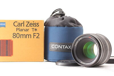 $ CDN3869.32 • Buy [MINT BOXED ] Contax Carl Zeiss Planar T* 80mm F/2 Lens Case For 645 From JAPAN