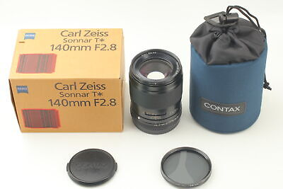 $ CDN961.19 • Buy [OPT MINT BOXED] Contax Carl Zeiss Sonnar T* 140mm F/2.8 AF Lens 645 From JAPAN