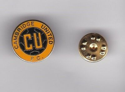 £3.60 • Buy Cambridge United  - Lapel Badge No.2 Butterfly Fitting