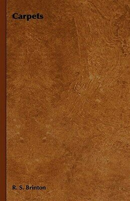 £20.31 • Buy Carpets, Hardcover By Brinton, R. S., Brand New, Free Shipping In The US