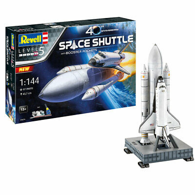 £46.95 • Buy Revell 05674 Gift Set Space Shuttle & Boosters 40th Anniversary 1:144 Plastic