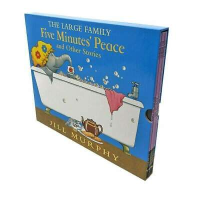 £12.49 • Buy The Large Family Five Minutes Peace 5 Books Box Set By Jill Murphy NEW