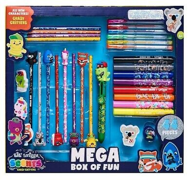 £19.99 • Buy Smiggle Lil' Scent Crazy Critters Mega Box Of Fun Stationery Gift Box Rrp £28