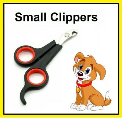 £1.99 • Buy Pet Dog Nail Clippers Cat Rabbit Bird Guinea Pig Easy Use Claw Trimmers Scissors
