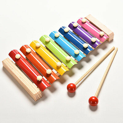 £4.80 • Buy Baby Kid Educational 8 Tone Xylophone Musical Toys Wooden Developmental Toyc3