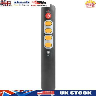 £4.88 • Buy Universal 6 Key Learning Remote Control Big Yellow Button Copy IR Remote