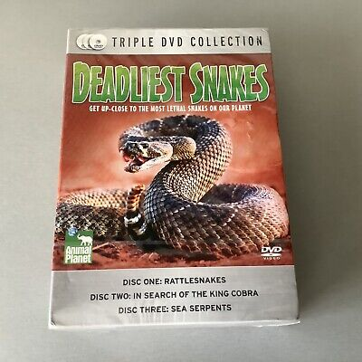 £8.95 • Buy Animal Planet Deadliest Snakes Triple DVD Collection (3 Discs ) NEW & SEALED