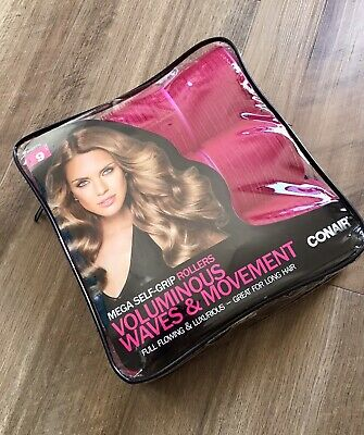 AU10.29 • Buy Conair Rollers Voluminous Waves And Movement Large Great For Long Hair
