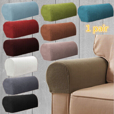 £6.39 • Buy 1Pair Removable Arm Chair Protector Armchair Covers Armrest Stretch - Sofa Couch