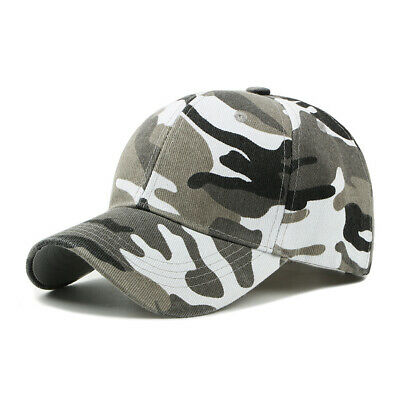 £5.31 • Buy Men Women Baseball Cap Military Army Camo Hat Trucker Camouflage Outdoor New