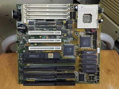 AU141.47 • Buy AT 486 Motherboard ALI Chipset Socket 3 PCI , ISA, Tested Working!